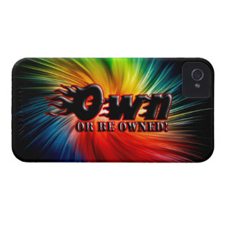 OWN OR BE OWNED iPhone 4 COVER