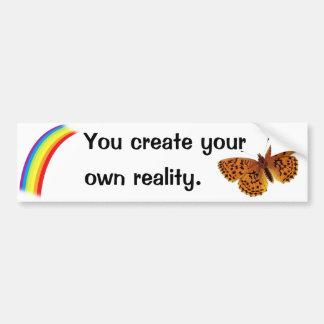 Own Reality Bumper Sticker
