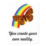Own Reality Postcard