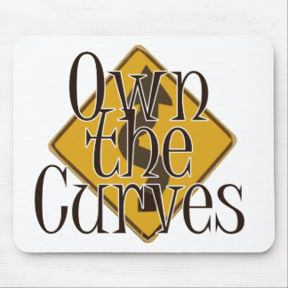 Own the Curves Mouse Pad
