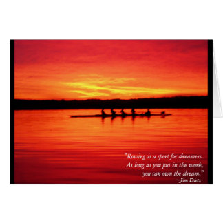Own The Dream Greeting Card