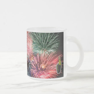 Own The Sky Frosted Glass Coffee Mug