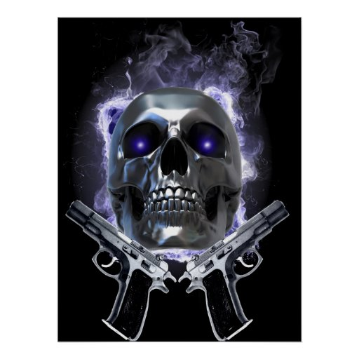Ownage:Skull and Guns Poster
