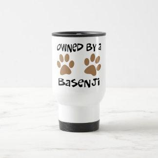 Owned By A Basenji Travel Mug