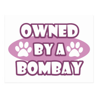 Owned by a Bombay Postcard