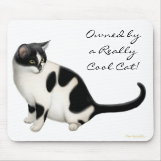 Owned by a Cool Cat Mousepad