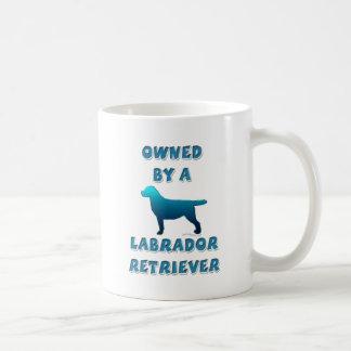Owned by a Labrador Retriever Coffee Mug