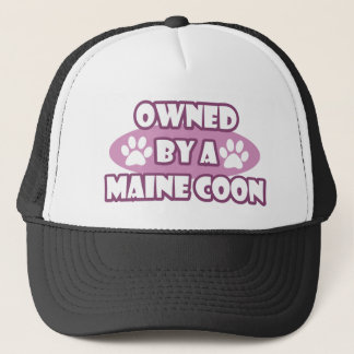 Owned By A Maine Coon Trucker Hat