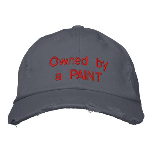 Owned by a PAINT Embroidered Baseball Cap