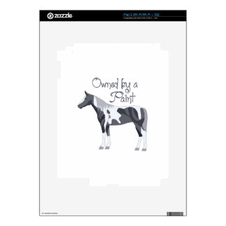 OWNED BY A PAINT HORSE SKIN FOR THE iPad 2