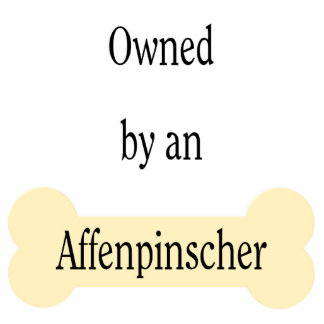 Owned by an Affenpinscher Cutout