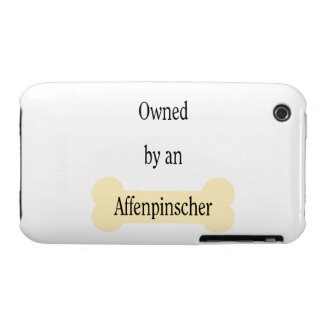Owned by an Affenpinscher iPhone 3 Covers