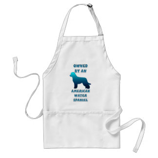 Owned by an American Water Spaniel Adult Apron