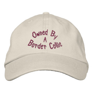 Owned By Border Collie Cute Baseball Cap