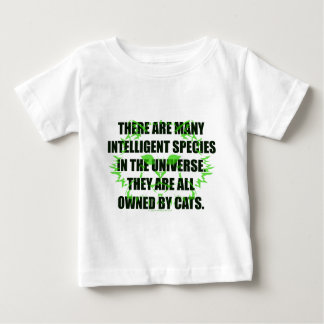 Owned By Cats Baby T-Shirt
