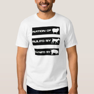 Owned By Pigs T-shirt