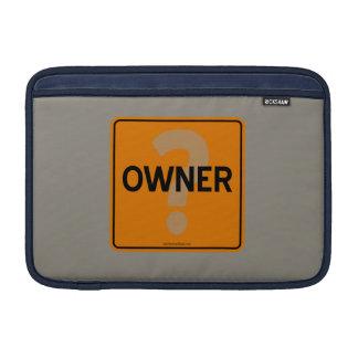 OWNER? MacBook AIR SLEEVE