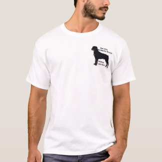 Owner of  rescued Rott T-Shirt