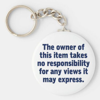 Owner of this item key chains
