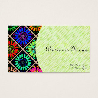 Owner or Employee I/ U-pick Color/ Radiant Flowers Business Card