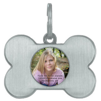Owner photo Pet Tag