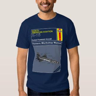 Owners Manual - NASA X-15 Tee Shirt