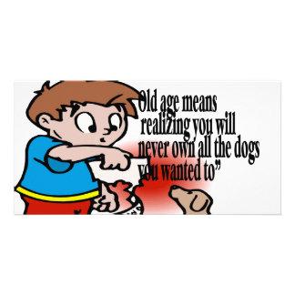 Owning a dog card