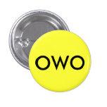 OWO PIN REDONDO 2,5 CM