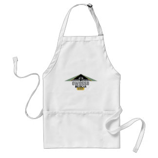 Owosso MI - Airport Runway Adult Apron