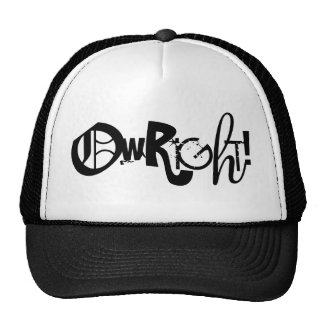 ¡OWRIGHT! Gorra
