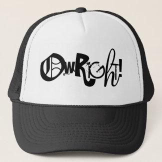 OWRIGHT! Hat