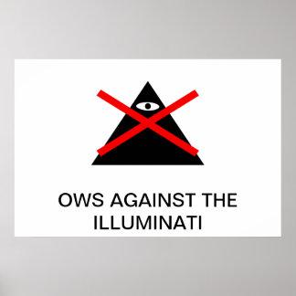 OWS AGAINST THE ILLUMINATI PRINT