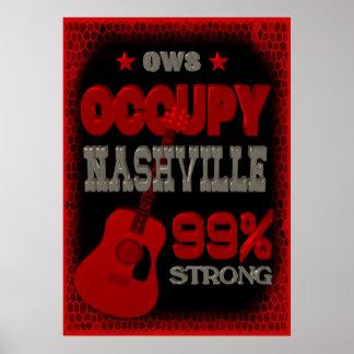 OWS- Nashville 99percent fuerte Poster
