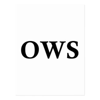 OWS POST CARDS