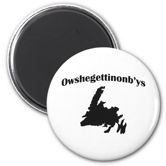 Owshegettinonbys Imán Redondo 5 Cm
