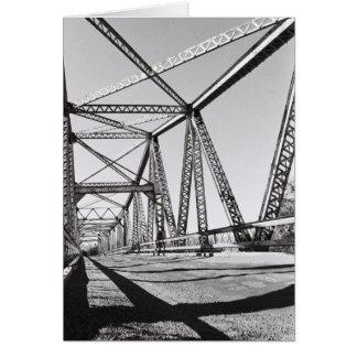 Owsley Bridge in Hagerman, Idaho, USA Card