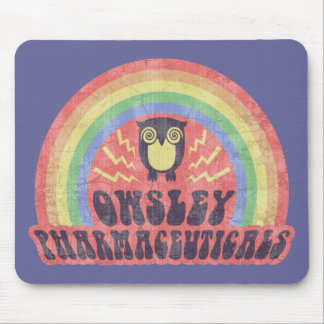 Owsley Pharmaceuticals Mouse Pad