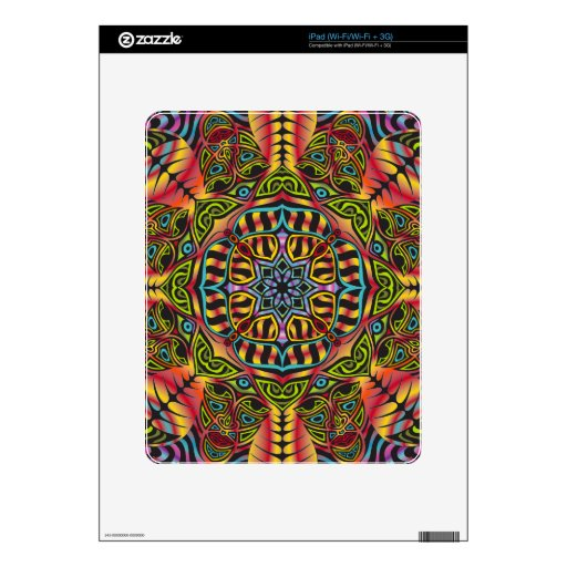 Owsley Stanley Mandala Decals For The iPad