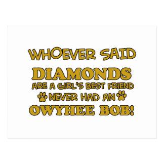 Owyhee Bob Cat designs Postcard