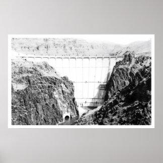 Owyhee Dam near Nyssa, Oregon Vintage Poster