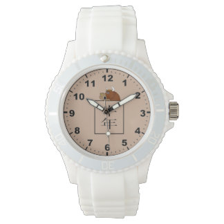 Ox Chinese astrology symbol watches