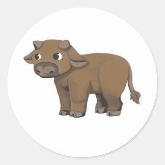 Ox Classic Round Sticker