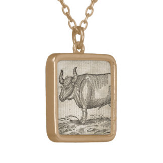 Ox Gold Plated Necklace