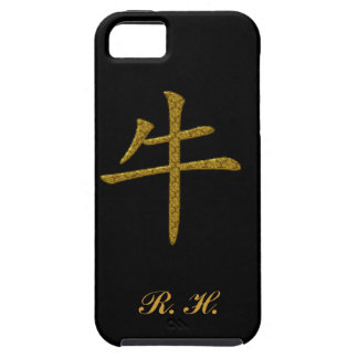 Ox Symbol Chinese Caligraphy iPhone SE/5/5s Case