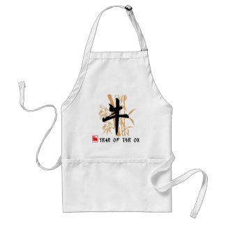 Ox Symbol Gifts Adult Apron