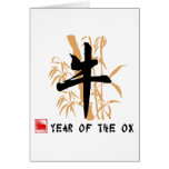 Ox Symbol Gifts Greeting Card