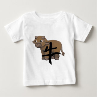 Ox with character baby T-Shirt