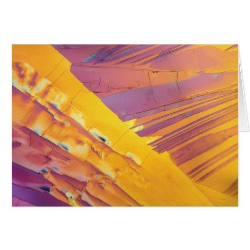 Oxalic Acid Crystals Card