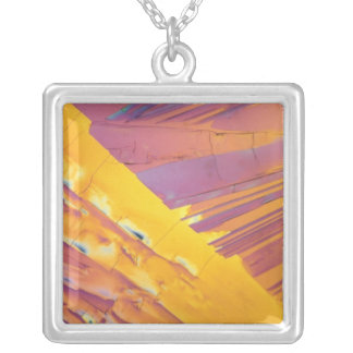 Oxalic Acid Crystals Personalized Necklace