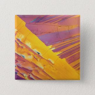 Oxalic Acid Crystals Pinback Button